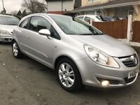 Corsa 1.2 2008! Drives superb! Half leather seats! Not Clio polo ford Kia Peugeot Honda