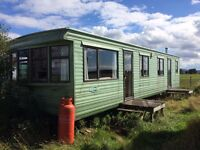 Cosalt Geneva Super 35, 35ft x 12ft static caravan - 1997 model, 2 bedroom - off site