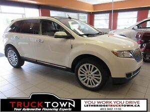 2013 Lincoln MKX FULLY LOADED-HEATED FRONT AND REAR LEATHER