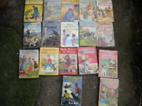 17 OLD EDID BLYTON BOOKS c1960s ALL WITH DUST COVERS
