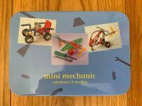 Mini Mechanic (Gift In A Tin) Brand New