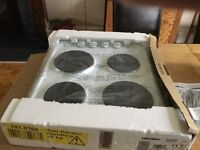 New boxed Electric solid plate hob