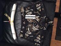 Topshop Boutique embellished shorts size 8