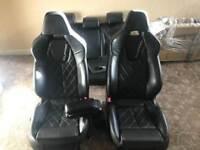 Seat Leon CUPRA K1 wingback bucket interior