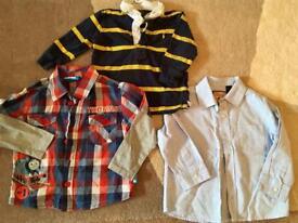 Boys 18-24 month shirts, Ralph Lauren, next, & Thomas