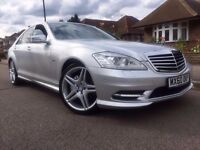 1 OWNER AMG BODY KIT**FULLY LOADED Mercedes-Benz S Class S350 CDI BlueEfficiency 7G-Tronic Plus 4dr