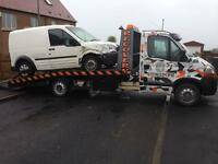 VEHICLE RECOVERY DELIVERY COLLECTION SERVICE LOCAL NATIONAL FULLY INSURED 24/7