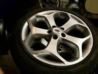 Genuine focus st alloys 18 inch