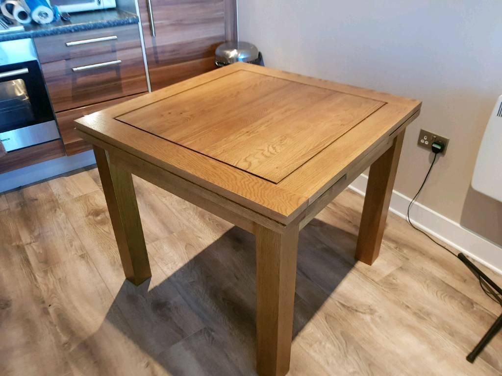 Sherwood Rustic Solid Oak Dining Table In Glasgow Gumtree