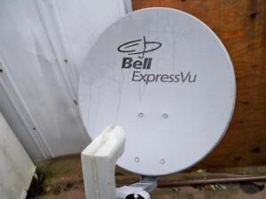 Bell satellite dish@SW21 switch