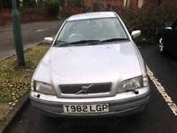 Volvo S40 Petrol and LPG Automatic