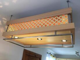 Kitchen bar lights unit