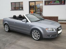 2007 AUDI A4 2.0TDI 140 CONVERTIBLE STUNNING CONDITION £4450