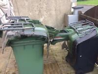 KLF 300 front & back plastics with racks