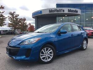2012 Mazda MAZDA3 SPORT GS BLUETOOTH, HEATED SEATS, CRUISE