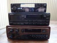 Sony car stereo & Alpine stereo fascia