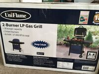 Brand new gas barbecue