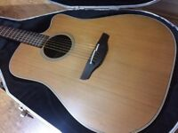 Takamine EN10C Electro Acoustic Guitar Solid Top, Body & Sides. Japanese 1992