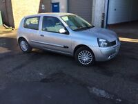 Renault Clio 1.1 Campus Sport. One years mot