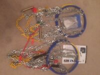 Unused TXR Pro Snow Chains - 4x4 - No 455 (Various sizes of wheels / tyres - see details)