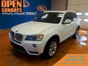 2014 BMW X3 xDrive28i NAVI! HUGE PANO SUNROOF!