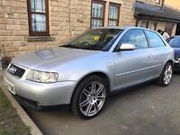 "Audi A3 1.8 Turbo Sport 20v 150 BHP Silver 2002 18"" RS4 Alloys"