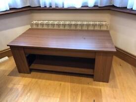 Coffee Table with Storage - Walnut