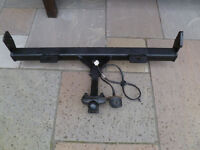 LANDROVER FREELANDER 1 TOWBAR C/W PLUG IN ELECTRICS & BOLTS READY TO FIT