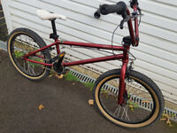 ABD King Pin Kingpin BMX Bike - Ruby Red, 20 Inch Vintage bicycle