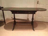 Wooden extendable table/desk