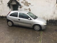 FOR SALE VAUXHALL CORSA 1.0