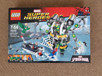 LEGO 76059 Marvel Super Heroes Spider-Man Doc Ock's Tentacle Trap - Brand New