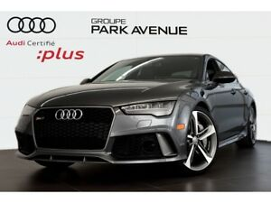 2016 Audi RS 7 4.0 TFSI PERFORMANCE LED+NAV+TOIT !