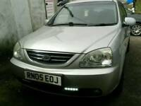 2005 Kia CARENS 1.6 petrol 5 door silver