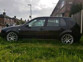 CSL mk4 golf 18 inches alloy wheels