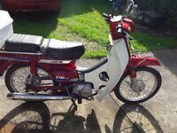 Honda Daelim Citi 100 motorbike for sale