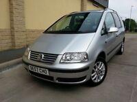 ***CHEAP 2007 VW SHARAN 2.0 TDi SE 140 [6SPEED] £3295***Turbo Diesel bargain 7 seater smax s-max