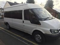 Bargain ford transit 2.4 TDI mini bus
