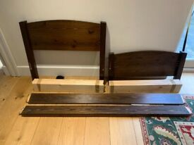 Warren Evans Solid Wood Single Bed Size Frame Only For Sale Good Condition Delivery Possible