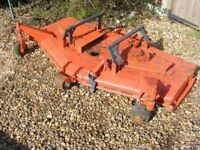 Large cutting deck 5' Topper cutting deck for compact garden tractor*Kubota?????