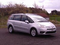 59 REG GRAND C4 PICASSO VTR+ 7 SEATER AUTOMATIC 12 MONTHS M.O.T 6 MONTHS WARRANTY