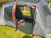 Urban Escape 4 Berth Tent + many extras.