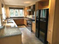 Stunning Siematic Kitchen with Appliances, Great Pre-owned Condition