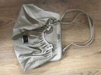 Women's beige river island handbag