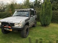 Big spec off road landrover landrover discovery 300tdi monster truck