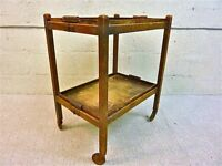 Vintage 1920's Tea Trolley in great condition for restoration or up cycling. Rare early metal wheels