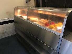 Fish and chips machine fully automatic like a new commercial catering kitchen equipment takeaway