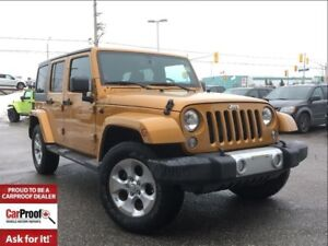 2014 Jeep WRANGLER UNLIMITED SAHARA**AUTOMATIC**NAVIGATION**