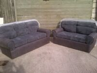 "Sofas 3 seater & 2 seater""Brand New & Unused"" only opened to take photo £350 for both, can deliver."