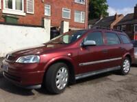 Vauxhall Astra LS Td estate full history